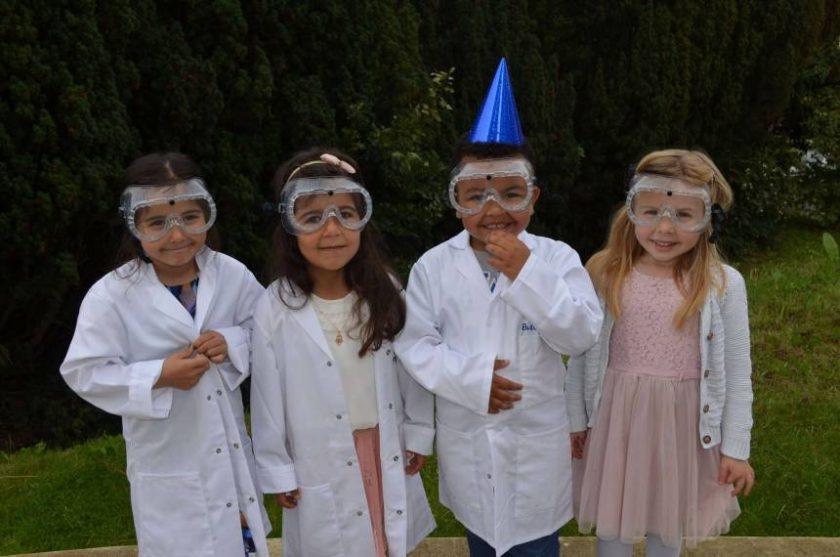 science birthday parties